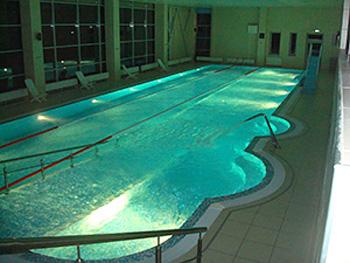 Освещение бассейнов